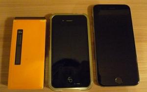 マイ携帯たち