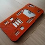 3Dプリンタで世界に1つだけのカウンタック仕様のiPhone6カバーを製作していただいたの巻