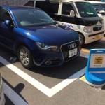 Audi A1 をTimesカープラスでカーシェアリングで、江ノ島まで往復80km走ってきたら、まあまあだった
