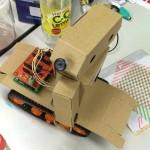 新幹線に娘が乗ったことがなかったので、静岡の田宮ホビースクウェアまでロボットを作りに行ってみた。