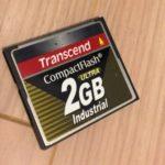 X68000に内蔵していたコンパクトフラッシュを1GB⇒2GBにした